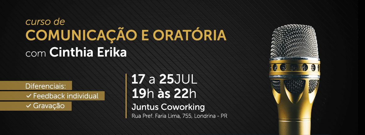 Curso de Comunicação & Oratória – Londrina